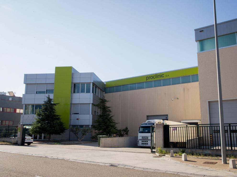 Proclinic Expert decidió trasladar su sede social a Zaragoza el pasado 12 de septiembre.