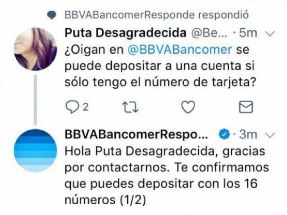 La descolocante (e insultante) respuesta de un banco a una tuitera