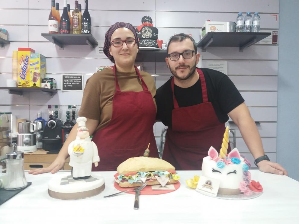 Sandra Ibáñez y David Gómez, gerentes de 'Toque de Canela'