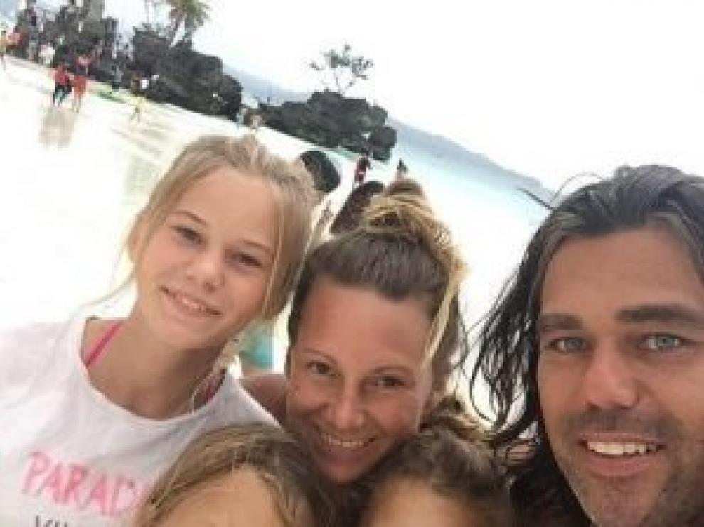 Didi Taihuttu y su familia