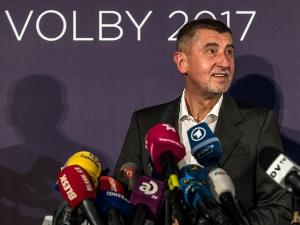 El millonario Andrej Babis será el encargado de intentar formar Gobierno.