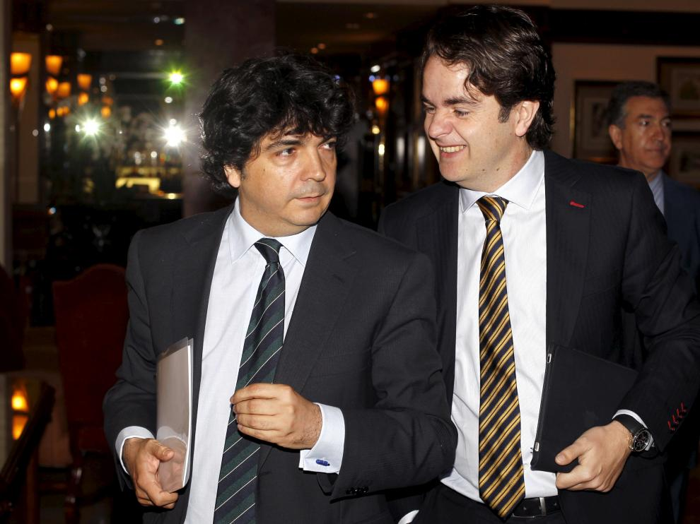Los ahora secretarios de Estado Mario Garcés y Roberto Bermúdez de Castro, en una imagen de 2012.