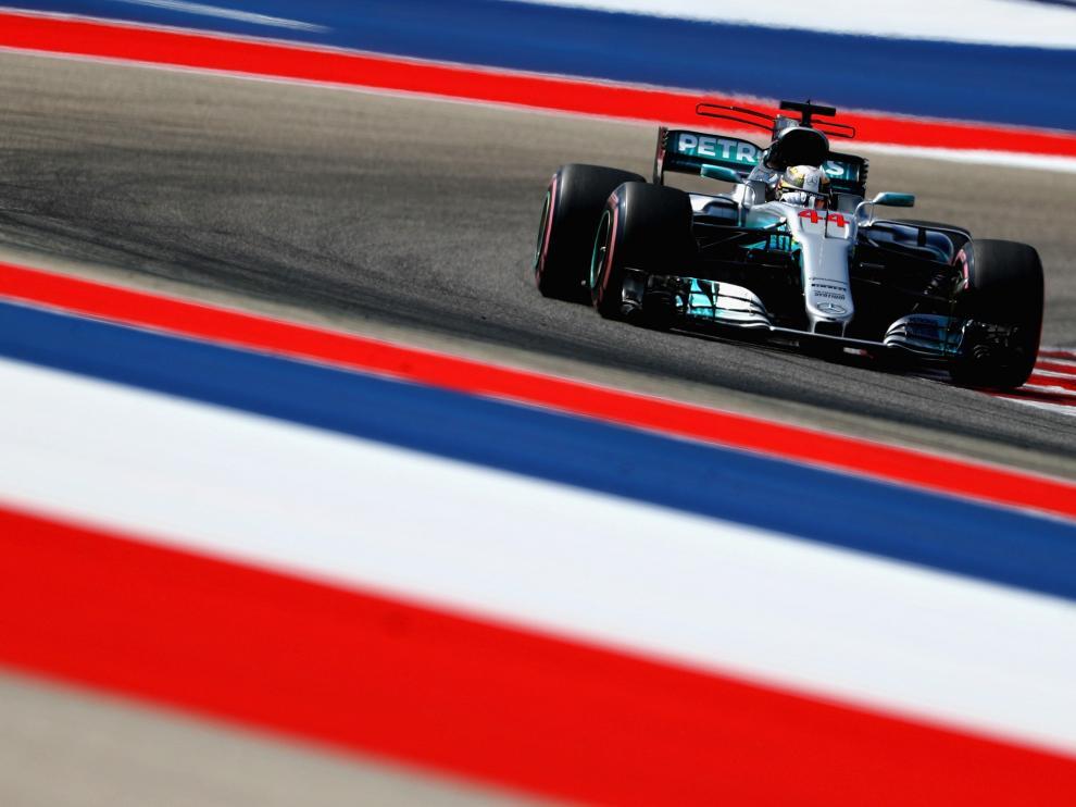Lewis Hamilton, en Austin