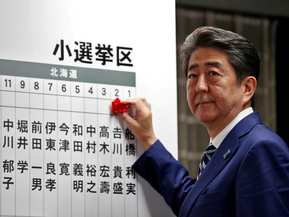 El conservador primer ministro nipón, Shinzo Abe