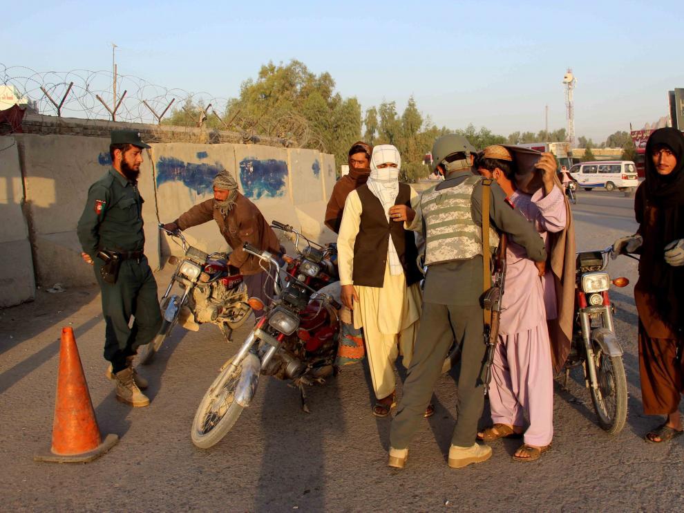La seguridad se ha intensificado con más controles en ciudades como Kandahar.