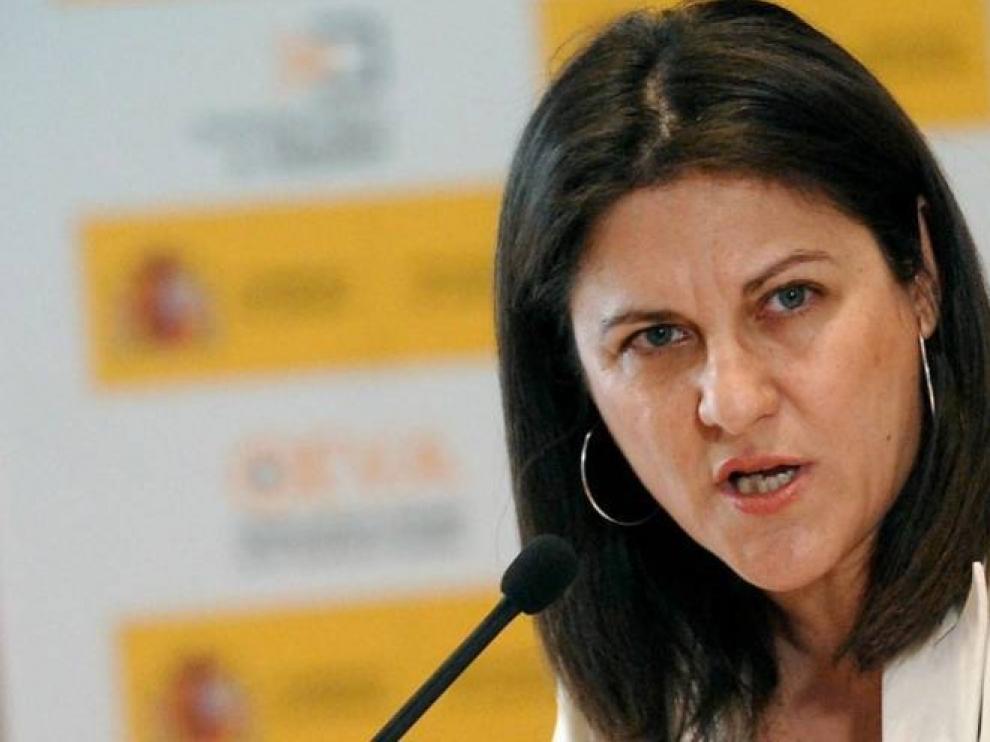 La exministrasocialistaMaría Antonia Trujillo.