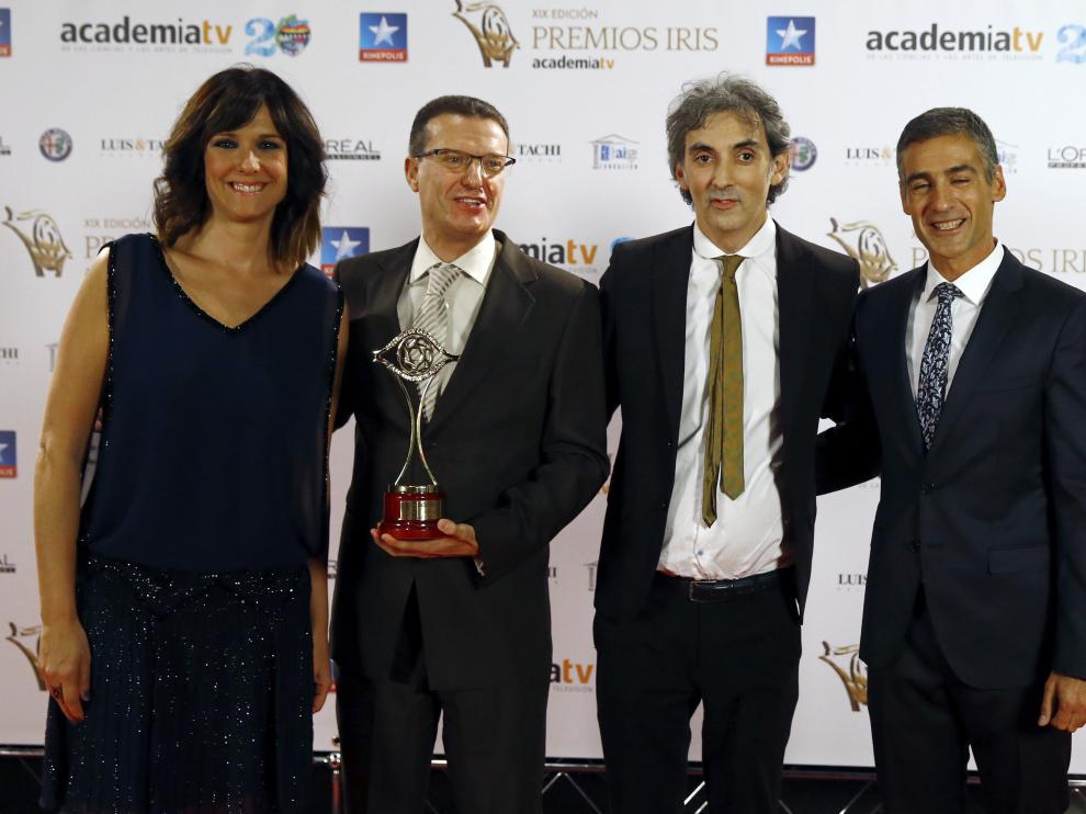 Los XIX Premios Iris de la Academia de la Televisión