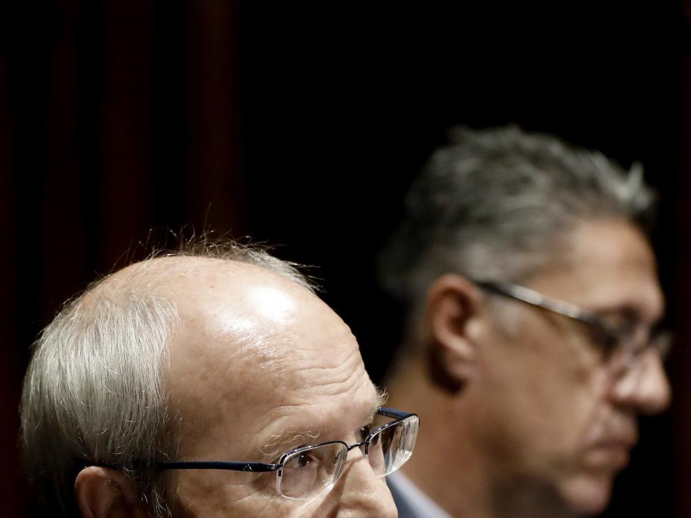 El senador socialista y expresidente de la Generalitat de Cataluña, José Montilla.