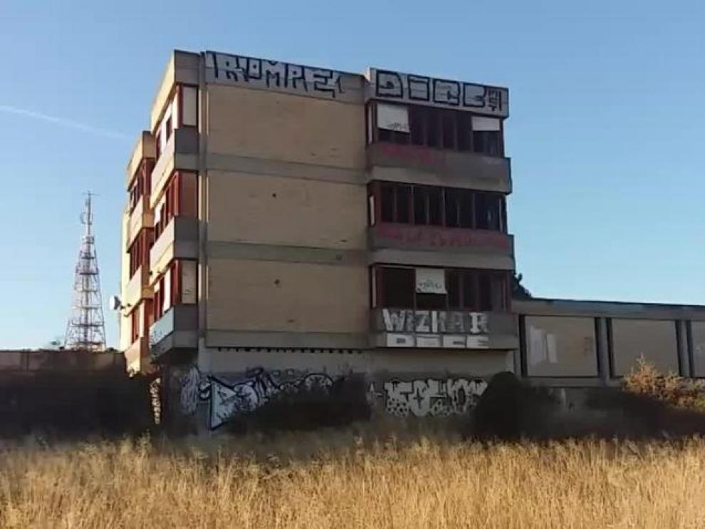 El antiguo colegio Lestonnac, en el barrio de Torrero.