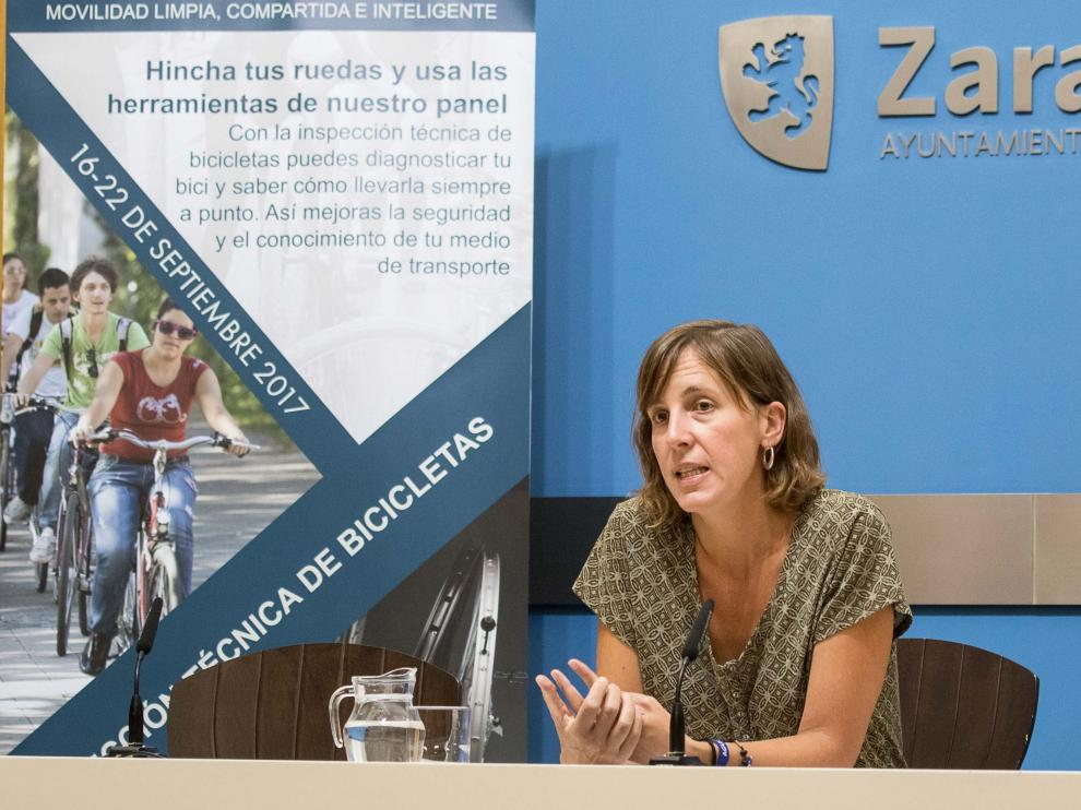 Imagen de archivo de la concejala de Movilidad, Teresa Artigas.