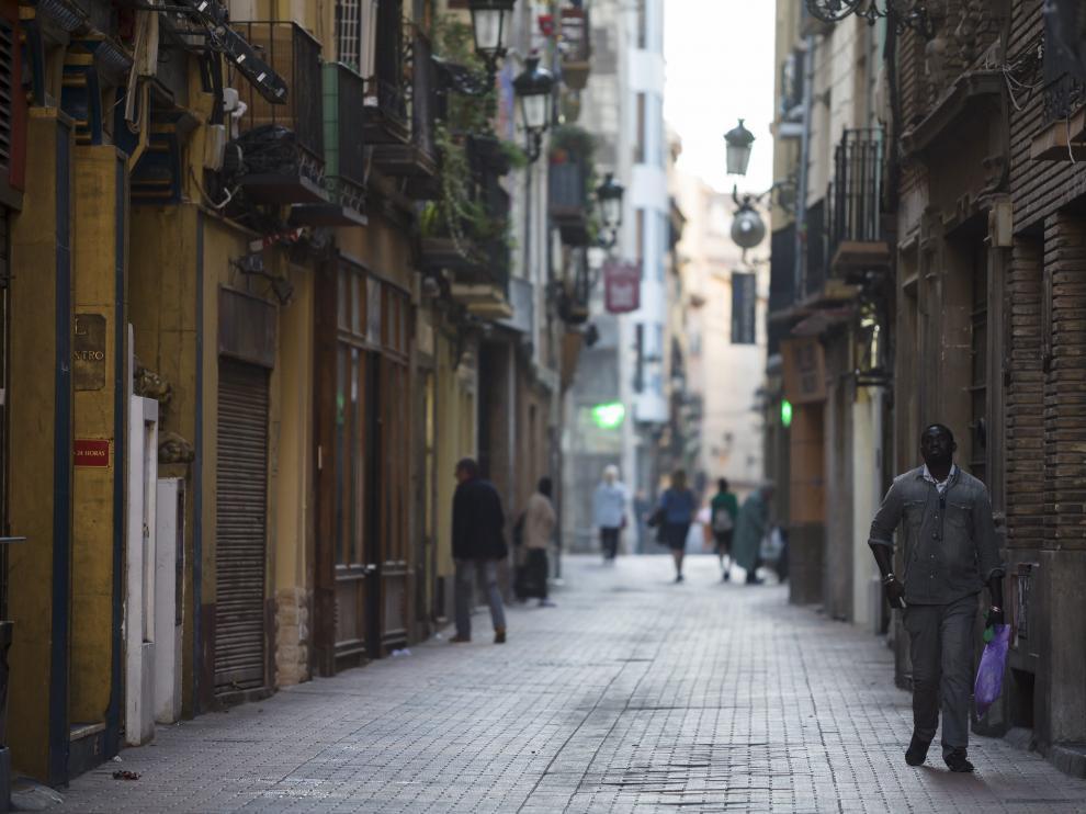 San Pablo, una de las zonas afectadas por la ocupación.