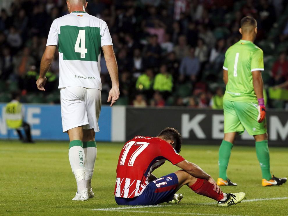 El Atlético no pasó del empate ante el Elche.