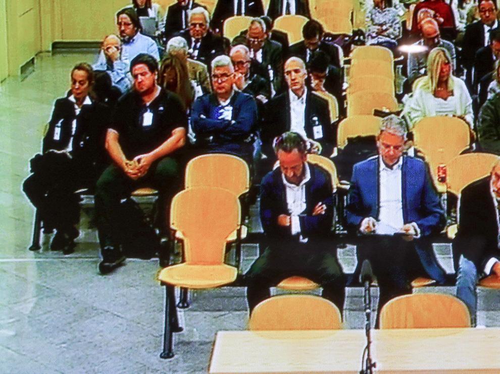 Vista de una sala de la Audiencia Nacional.