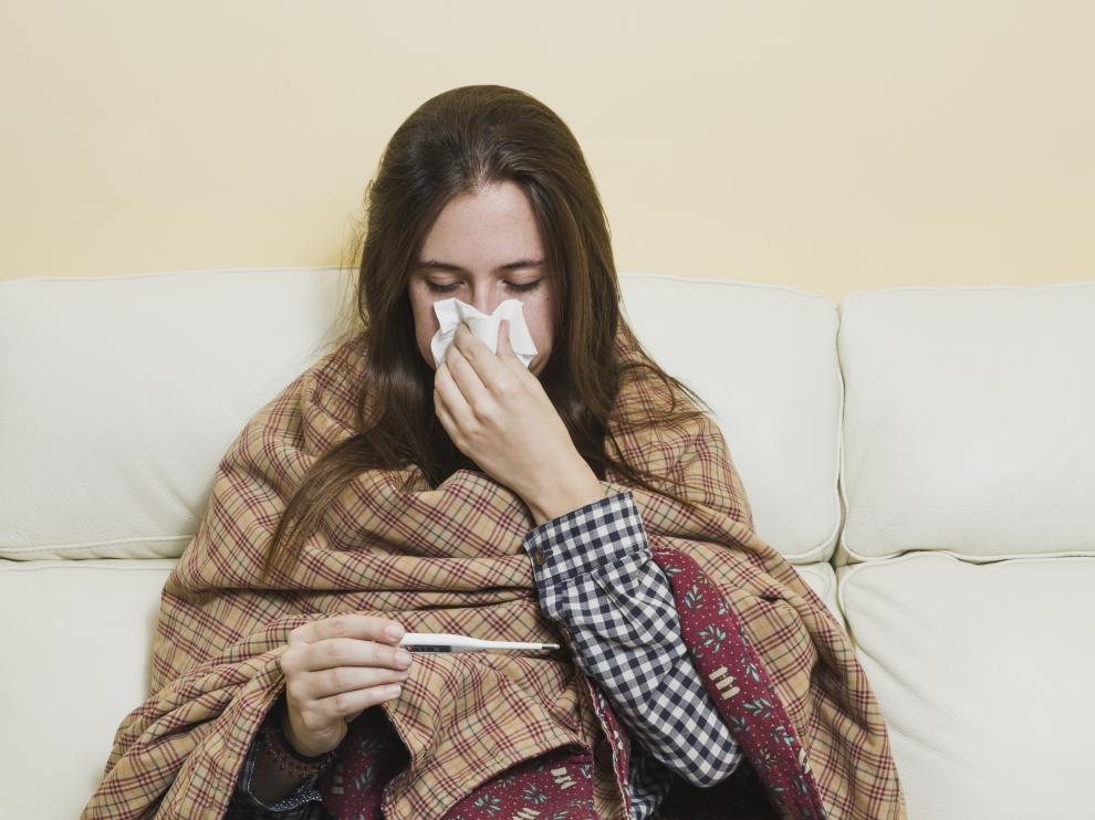 La gripe y los catarros son muy habituales en otoño e invierno.