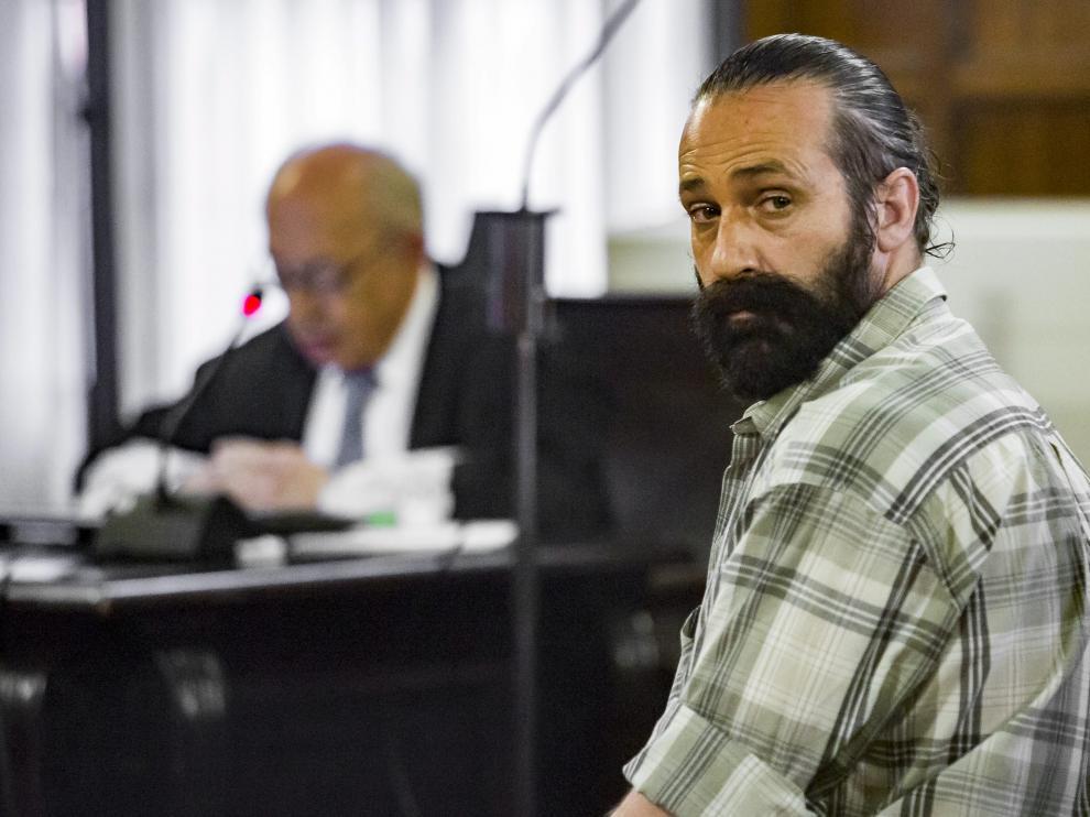 Pablo Canales Lahoz, durante la vista del recurso en el TSJA.