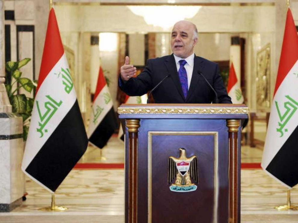 El primer ministro iraquí, Haidar al Abadi, en una foto de archivo.