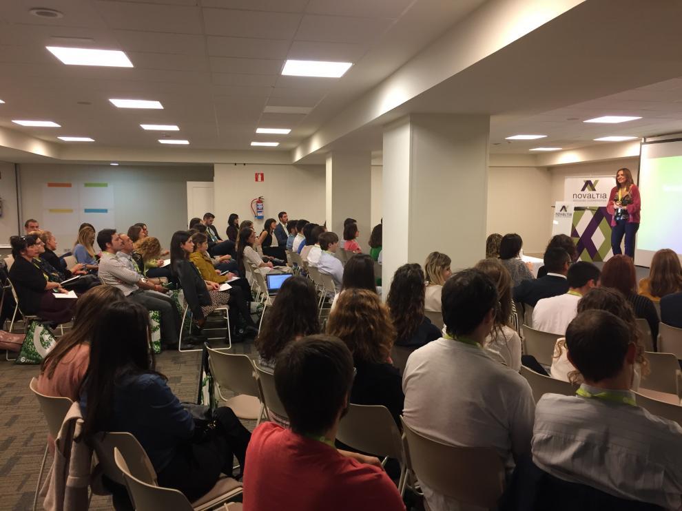 Novaltia reúne a más de 120 jóvenes farmacéuticos de Aragón y País Vasco en un innovador foro de trabajo