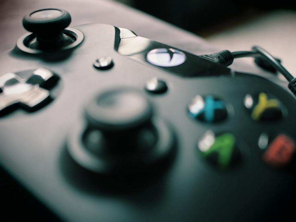 Imagen de archivo de un mando de una videoconsola.