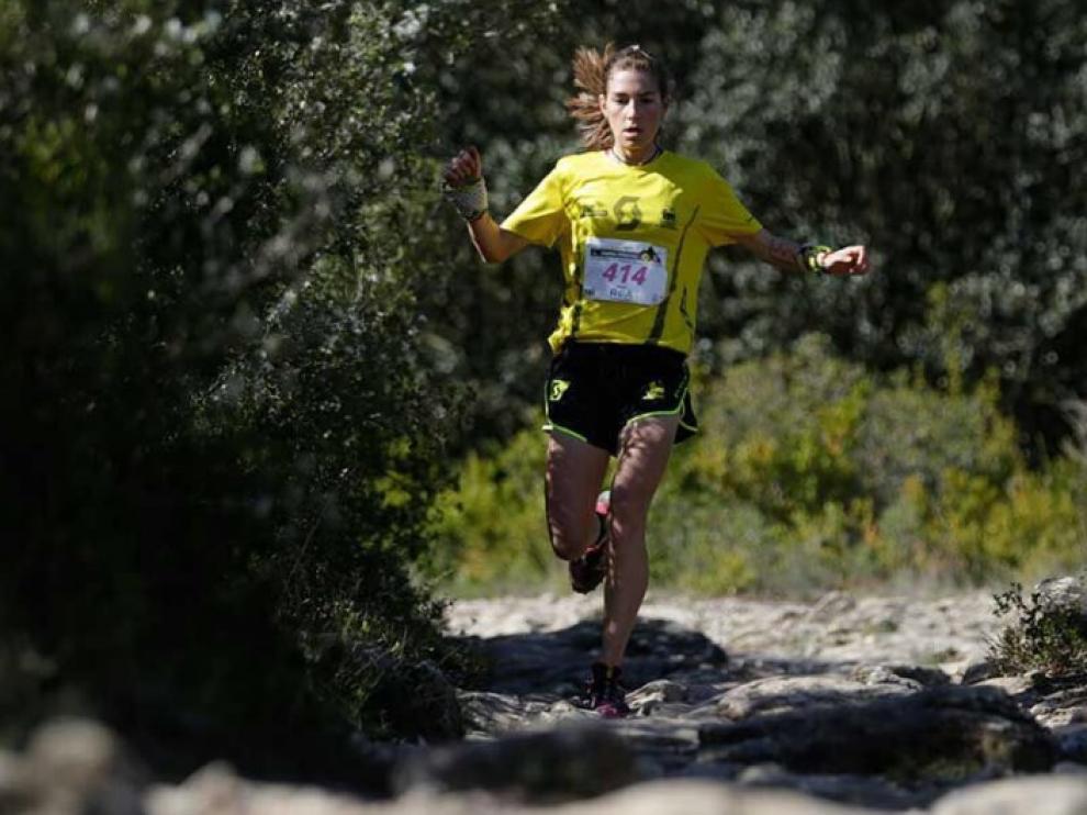 Yaiza Miñana en una carrera reciente.