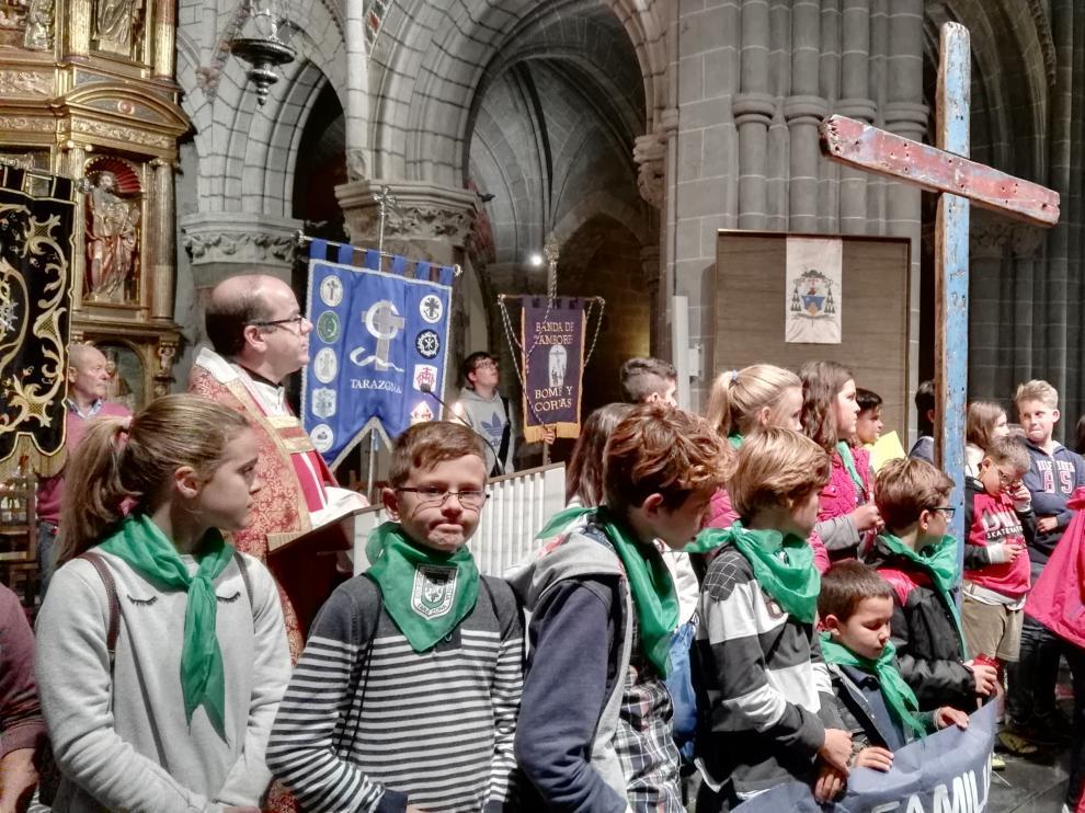 La procesión ha concluido en la catedral turiasonense