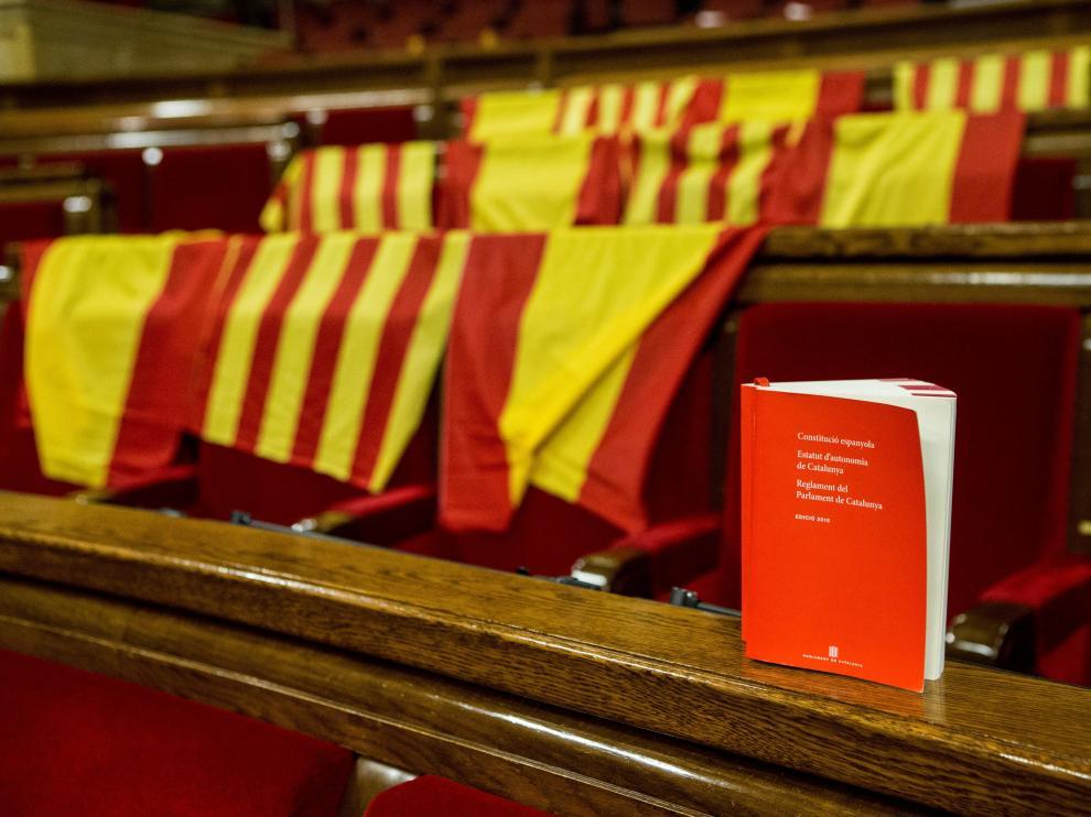 Una constitución en el Parlament de Cataluña