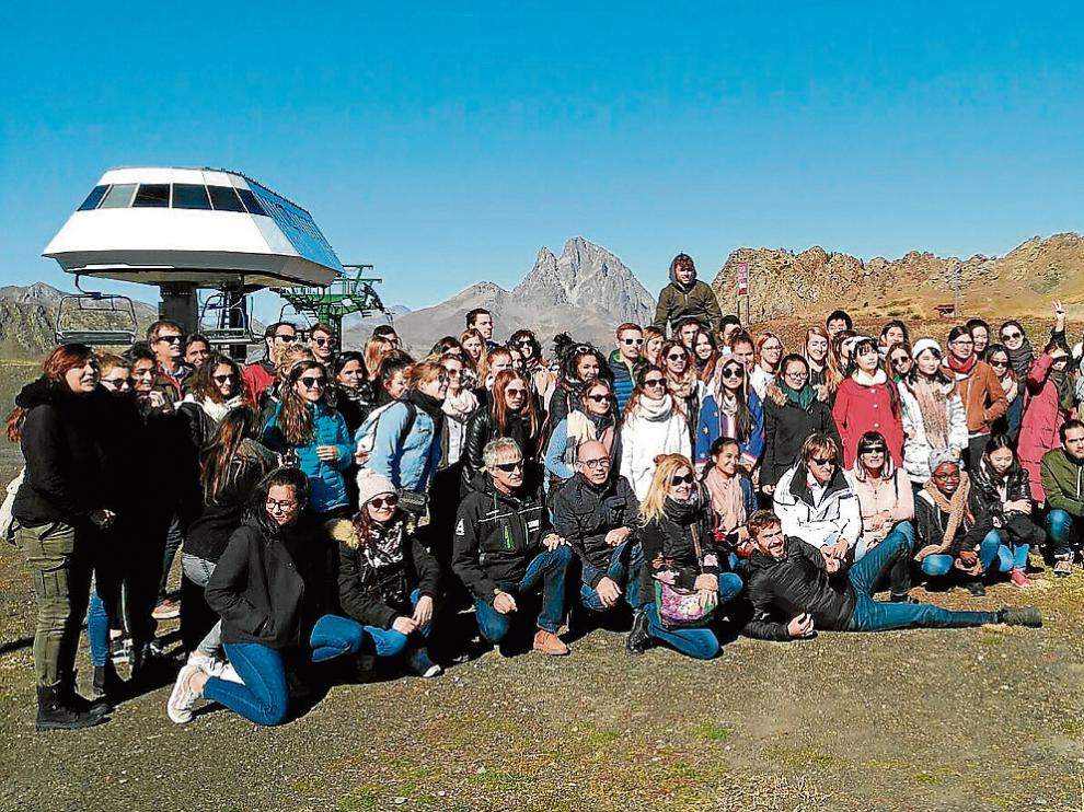 Las Jornadas de Turismo Sostenible se cerraron ayer con una visita de campo a Aramón Formigal.