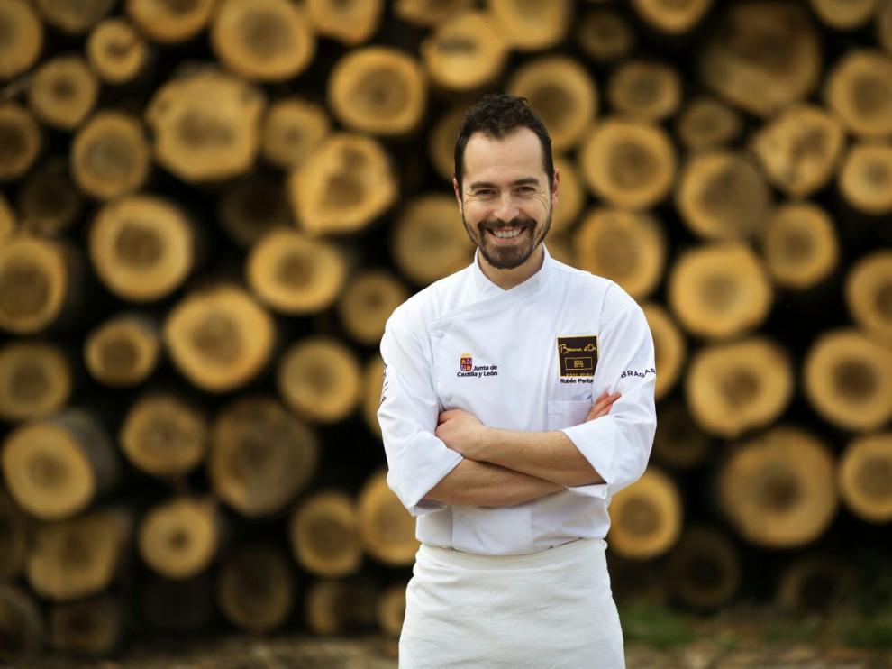 El cocinero Rubén Pertusa.