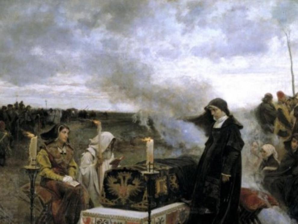 Juana la Loca, pintada por Francisco de Padilla