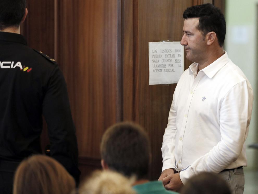 Manuel R. M. acusado de asesianr en diciembre de 2015 a su expareja María del Castillo Vargas.