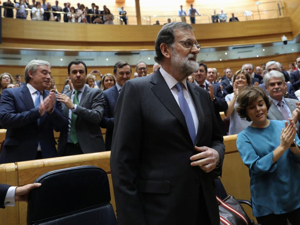 Rajoy, en el Senado