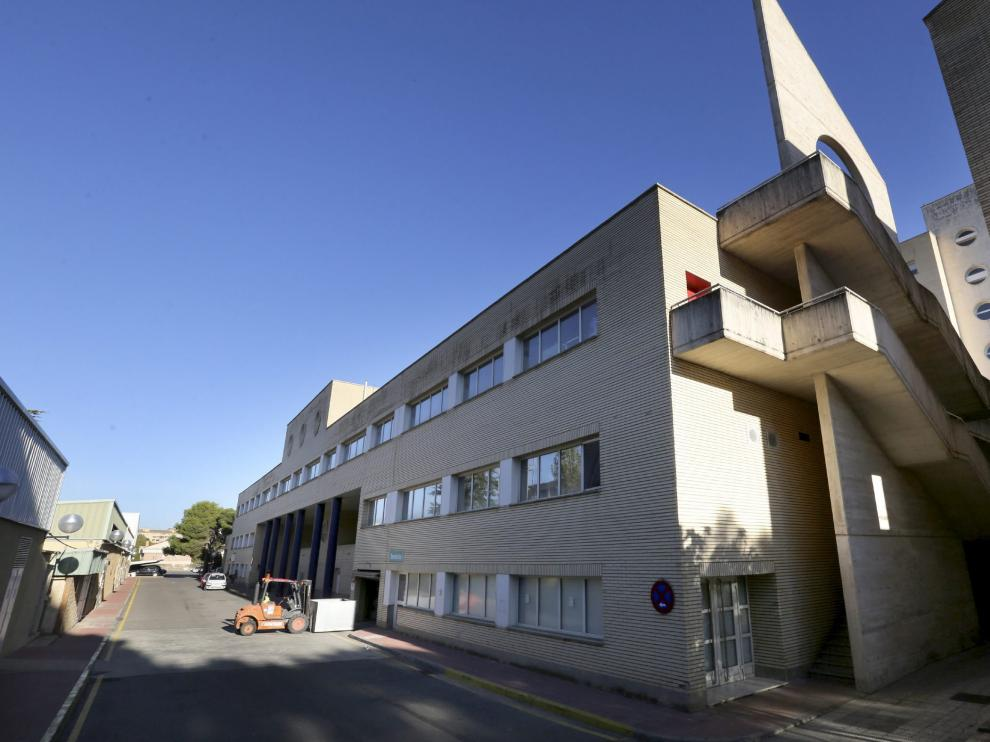 Hospital San Jorge en Huesca