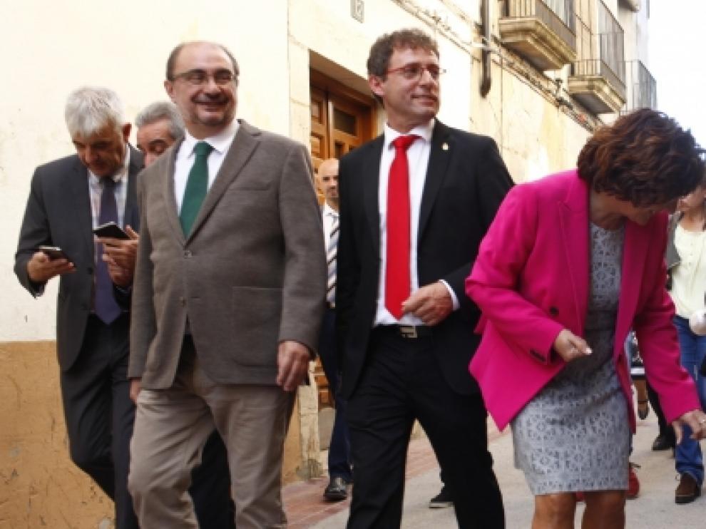 """Lambán cree que la independencia de Cataluña es """"un hachazo a la legalidad"""""""