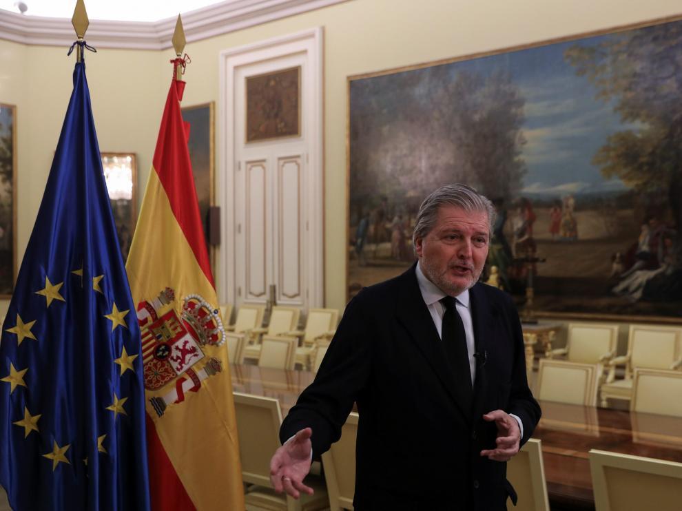 Íñigo Méndez de Vigo este sábado