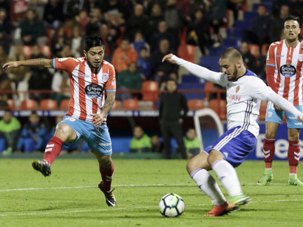 Verdasca, en el partido jugado en Lugo en septiembre.