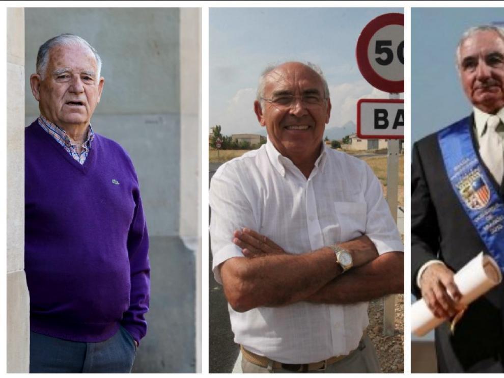 De Izquierda a derecha: Antonio Catalán, Ángel Gracia, Esmeraldo Marzo, Manuel Murciano y Gregorio Benedí