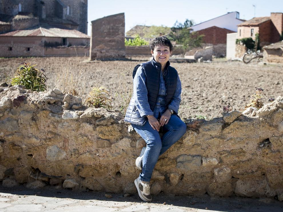 Reme Sebastián, propietaria del establecimiento de turismo rural Casa Periquillos.