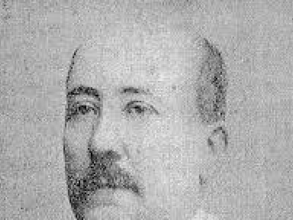 El catedrático Cosme Blasco, autor de las 'Memorias zaragozanas' en las que aparece el viejo zapatero conocido como el tío Leña.