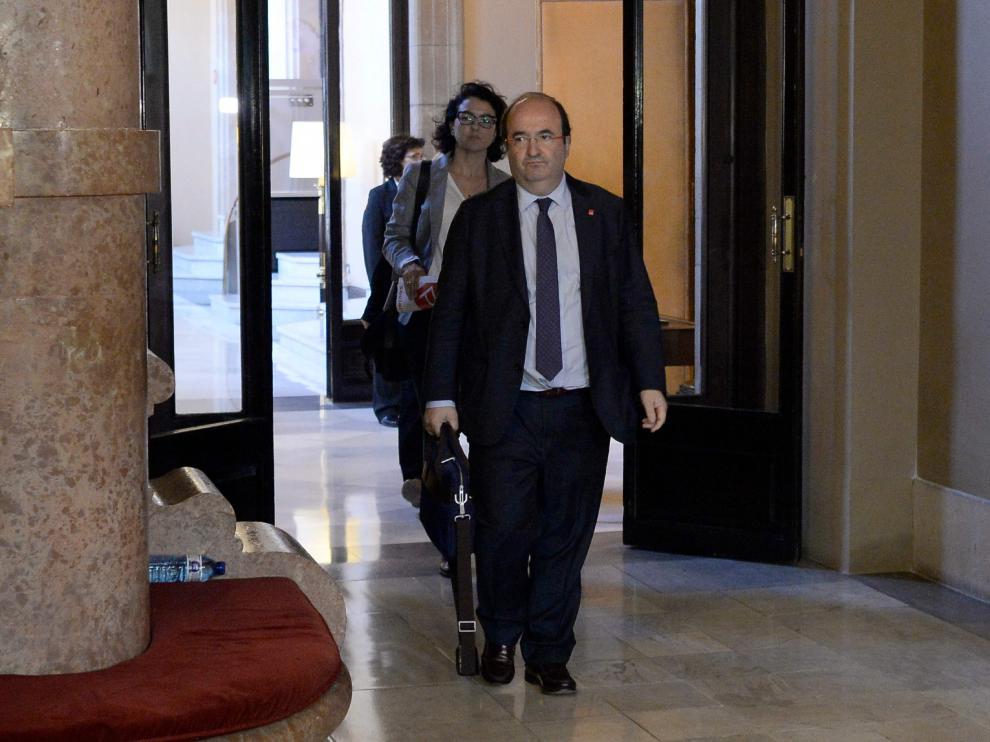"""Iceta: """"No entendí el discurso de Puigdemont y creo que no fui el único"""""""