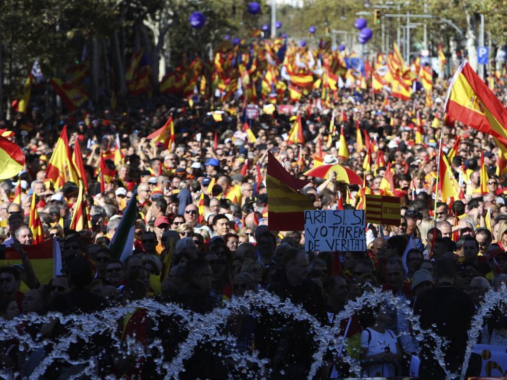 """El manifiesto de SCC llama a lograr una """"Cataluña unida"""" gracias a las elecciones"""