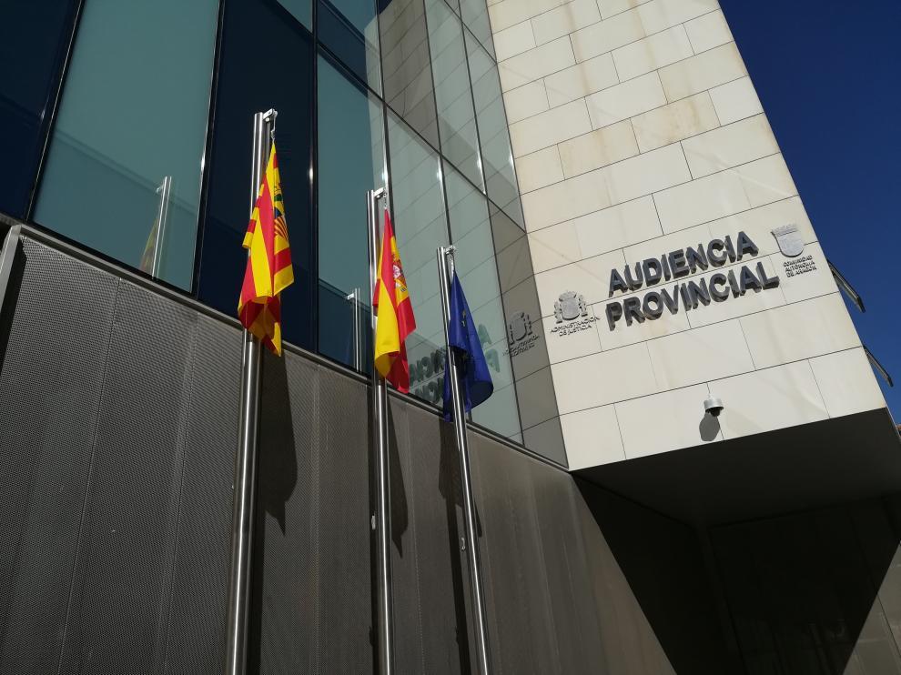 Imagen de archivo de la Audiencia de Zaragoza