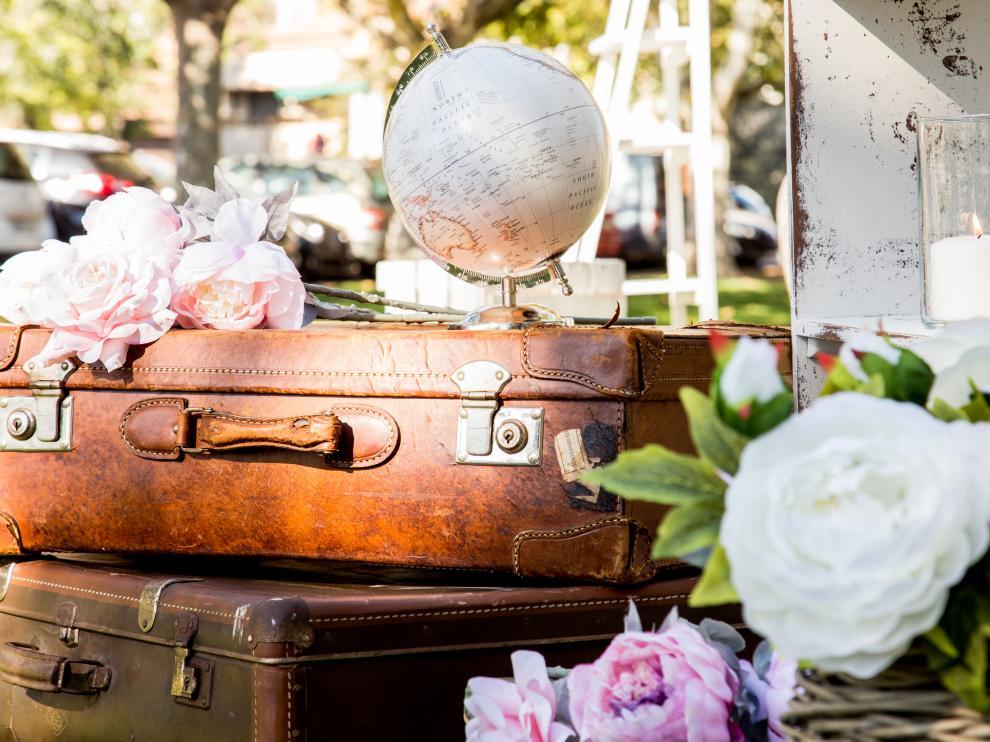 Decoración de boda al estilo 'Love Story'.