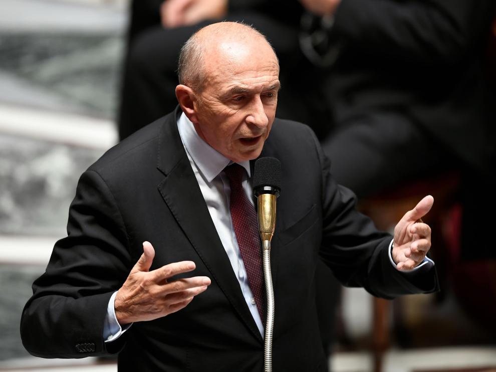 El ministro del Interior Gérard Collomb.