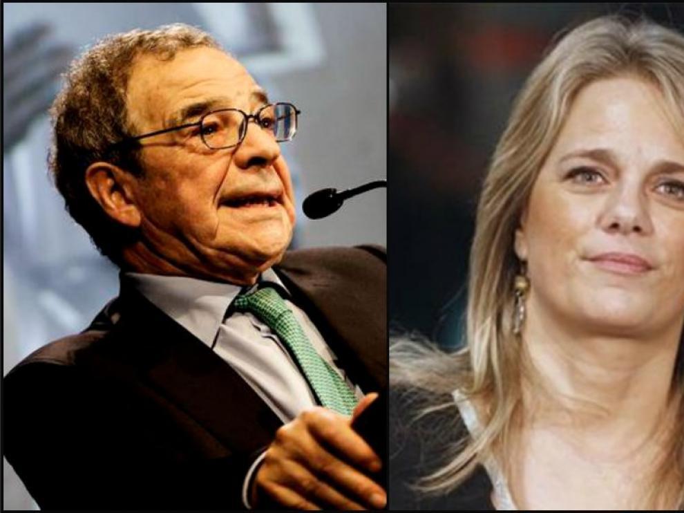 César Alierta e Isabel Sartorius.