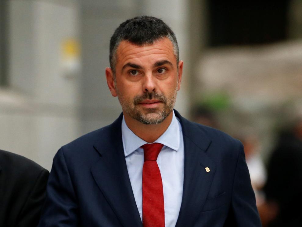 La defensa de Santi Vila trató de expulsar del proceso al consistorio monegrino