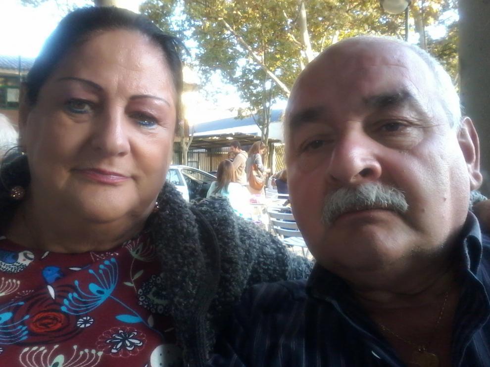 Manuel Medina, de 65 años, y su mujer, Soledad Gómez, de 68.
