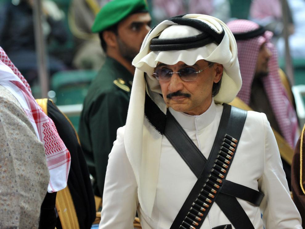 El multimillonario príncipe saudí Alwaleed bin Talal, entre los detenidos en la operación anticorrupción.
