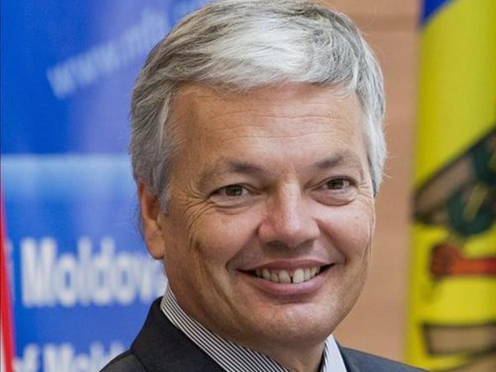 El ministro belga de Asuntos Exteriores, Didier Reynders, en una foto de archivo.