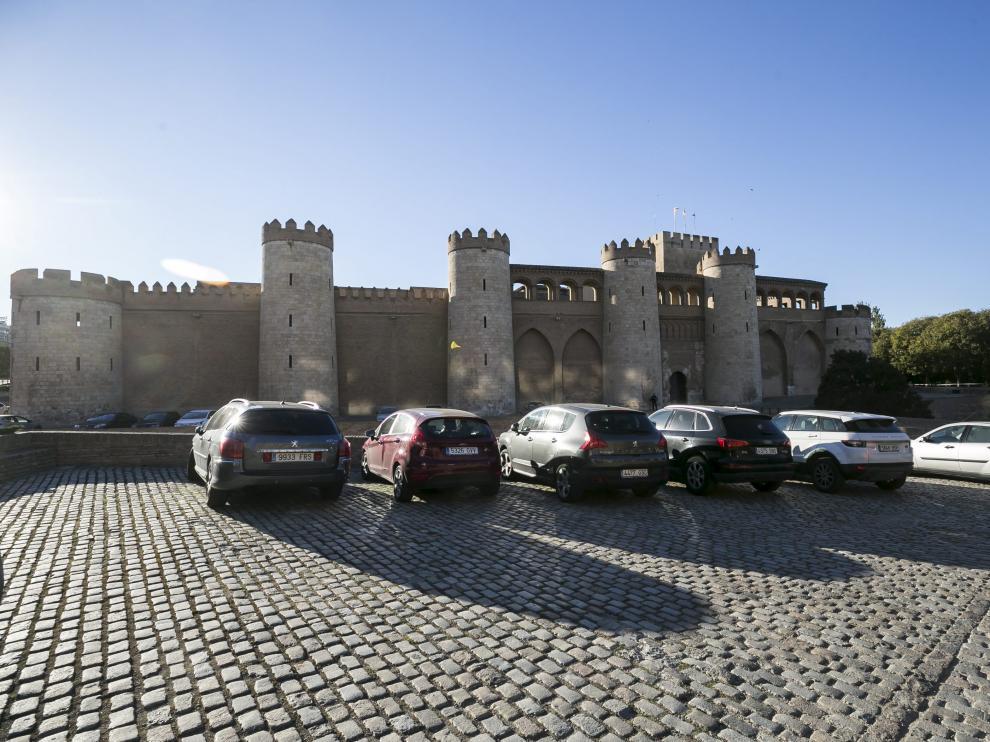 El parquin tendrá la misma capacidad máxima que el recinto actual en la Aljafería.