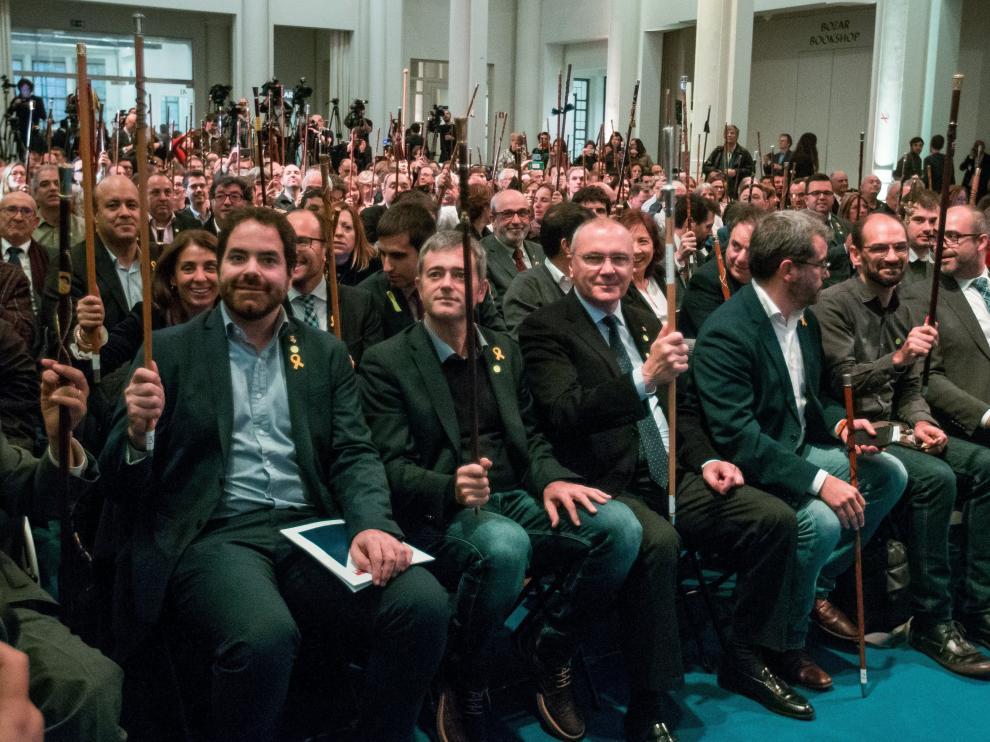 Varios alcaldes acudieron a Bruselas.