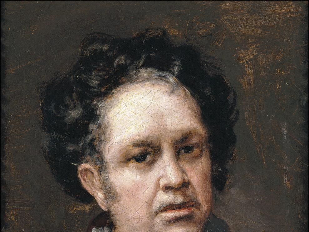Autorretrato de Goya en 1815.